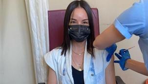 Koronavirüs aşısı yaptıran 5 aylık hamile Bengünün bebeği antikorlu doğacak